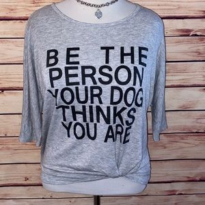 Moa Moa Be The Person Your Dog Thinks You Are Tee